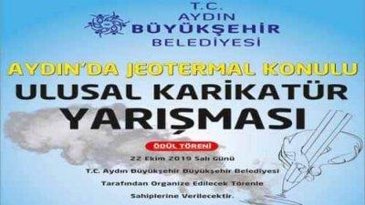Aydın'da Jeotermal Karikatür Yarışması